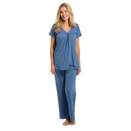 short sleeve bamboo pajamas