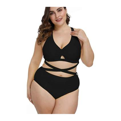 Kisscynest Plus Size Swimsuit