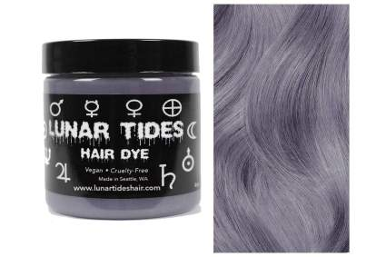 Lunar Tides silver lining hair dye