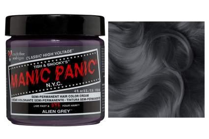 Manic Panic dark gray hair dye