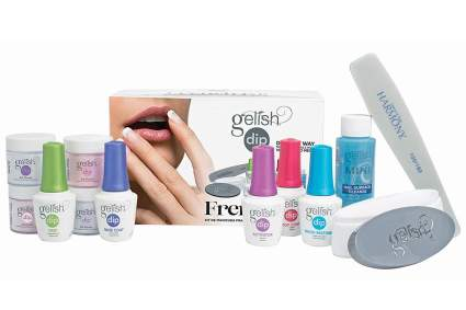 Gelish nail powder kit with nail file