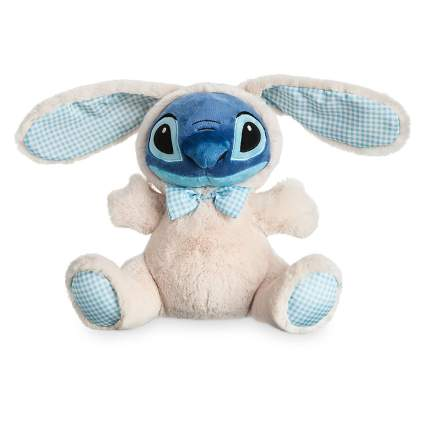stitch from lilo and stitch in a bunny suit