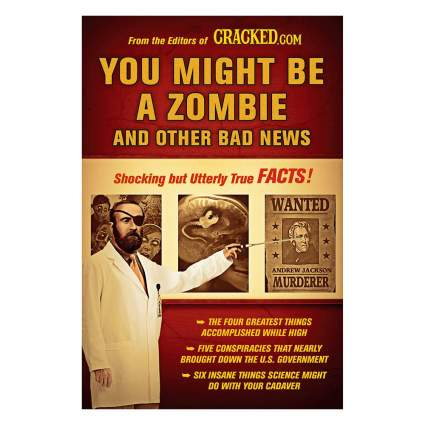 You might be a zombie book