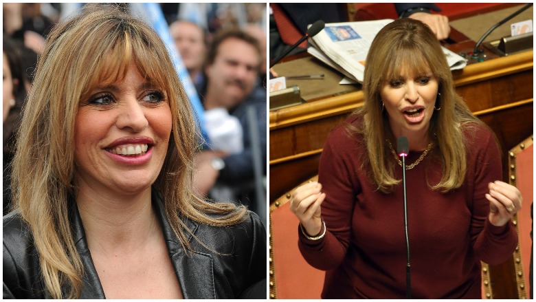 Playboy alessandra mussolini Mussolini's granddaughter