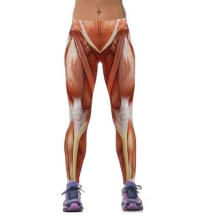 Anatomical Muscle Leggings