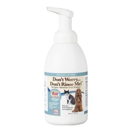 Ark Naturals dry dog shampoo