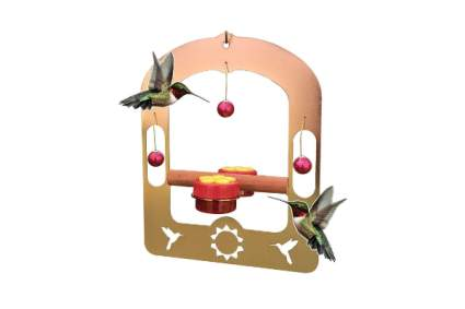 AROMA TREES Handcrafted Copper Hummingbird Swing