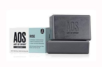 Activated Charcoal and tea tree oil soap