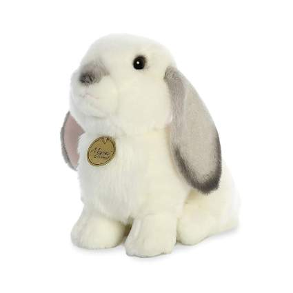 Realistic plush bunny