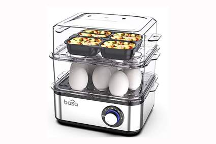 16 egg capacity electric egg cooker