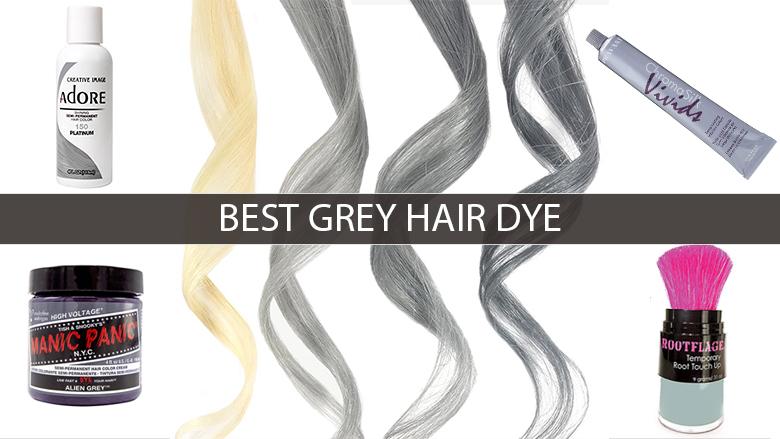 best grey hair dye