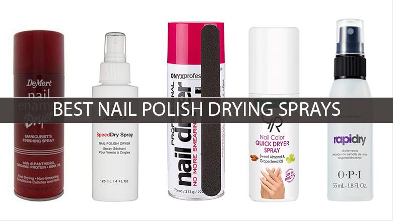 nail polish drying spray