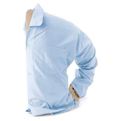 boyfriend pillow in light blue shirt