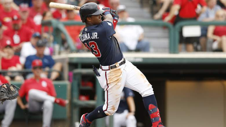 Braves Lineup vs Nationals - Ronald Acuna