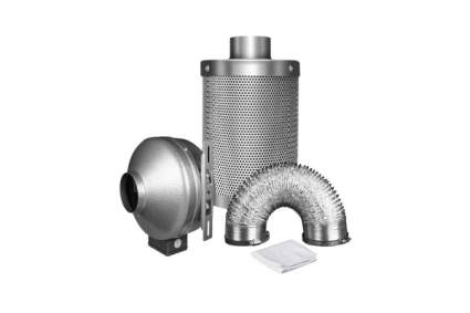 carbon filter fan ducting