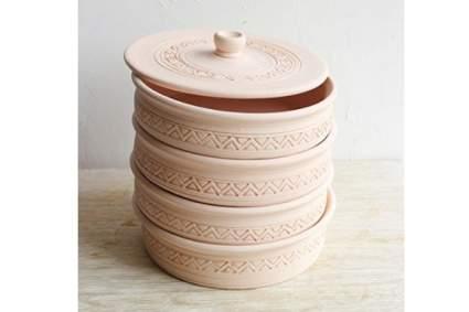 CeramicTableware Épandeur de graines à 4 plateaux