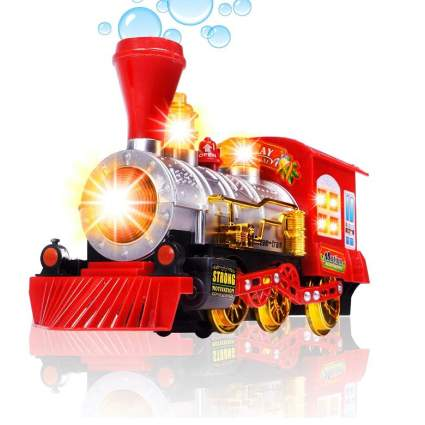 CifToys Bubble Blowing Toy Train