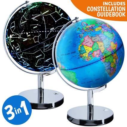 constellation world globe