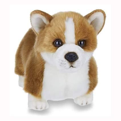 stuffed corgi plush toy