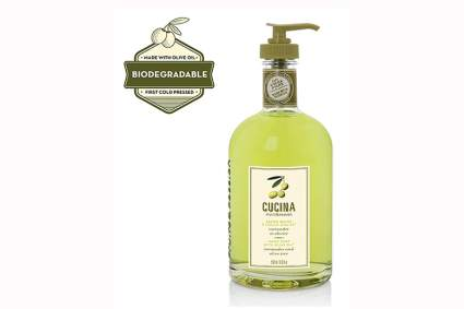 coriander and olive oil liquid soap