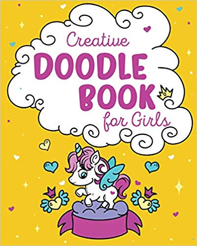 creative doodle book for girls
