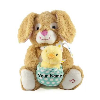 Easter bunny plushie