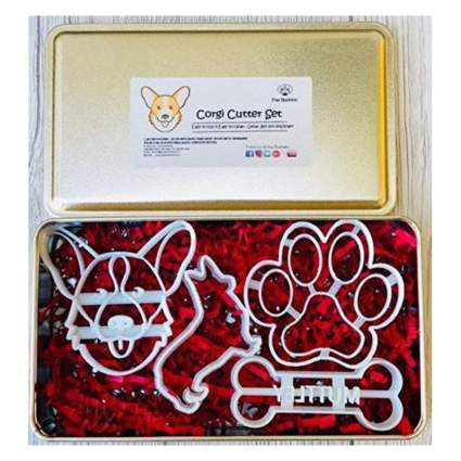 customizable corgi cookie cutters