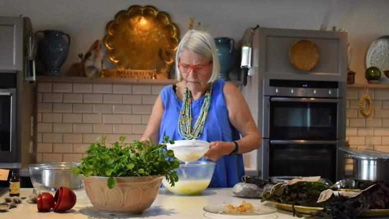 Darina Allen at Ballymaloe Cookery School
