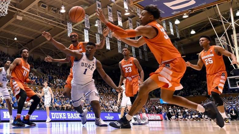 Duke syracuse basketball betting line coin flip betting game crossword
