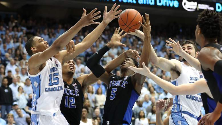 North Carolina vs Duke ACC Tournament