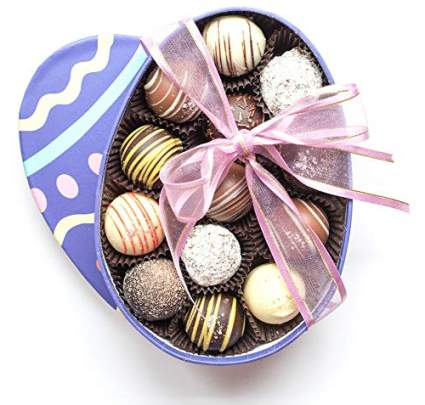 Easter Egg Truffle Box - Gourmet Chocolate Truffles