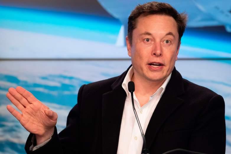 Elon Musk SpaceX Crew Dragon