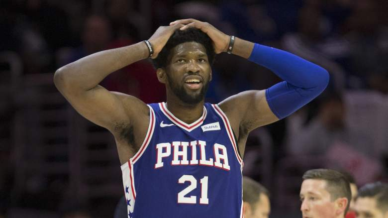 Joel Embiid injury