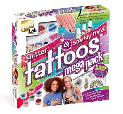 fablab glitter tattoos