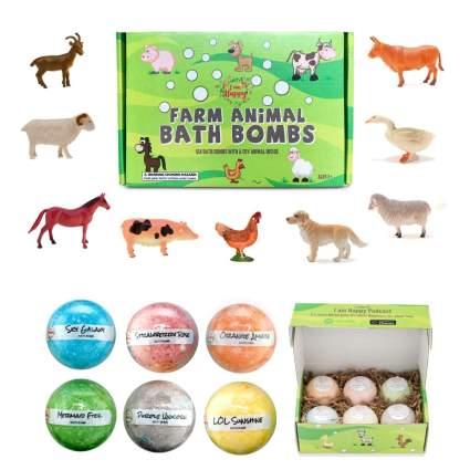 farm animal bath bombs