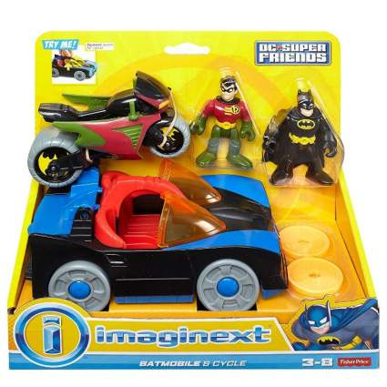 Fisher Price Imaginext Batmobile and Cycle