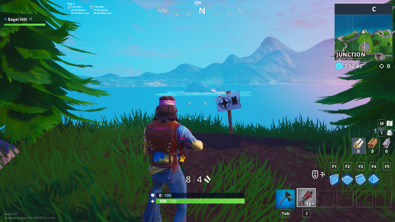 Fortnite Furthest North Point