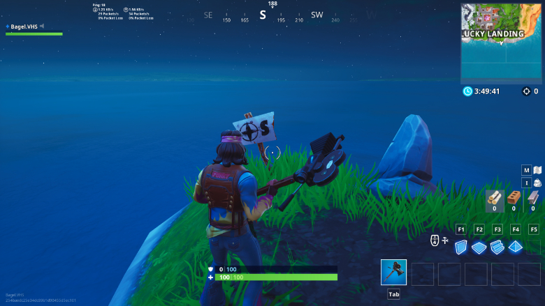 Fortnite Furthest South Point