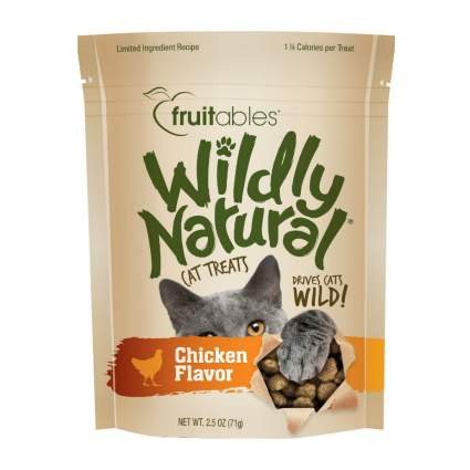 Fruitables wildly natural best cat treats
