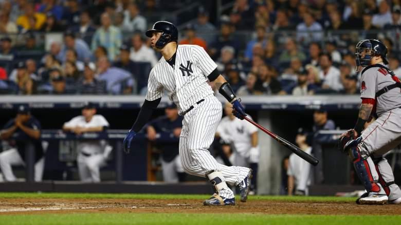 Gary Sanchez New York Yankees - Game Four