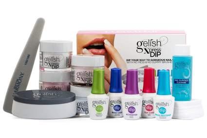 Gelish dip nail system