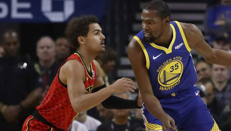 kevin durant trae young