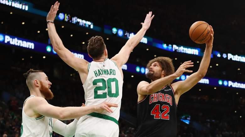 Bulls center Robin Lopez