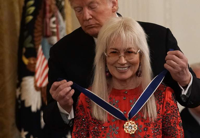 Dr Miriam Adelson Receives The Presidential Medal Of Freedom