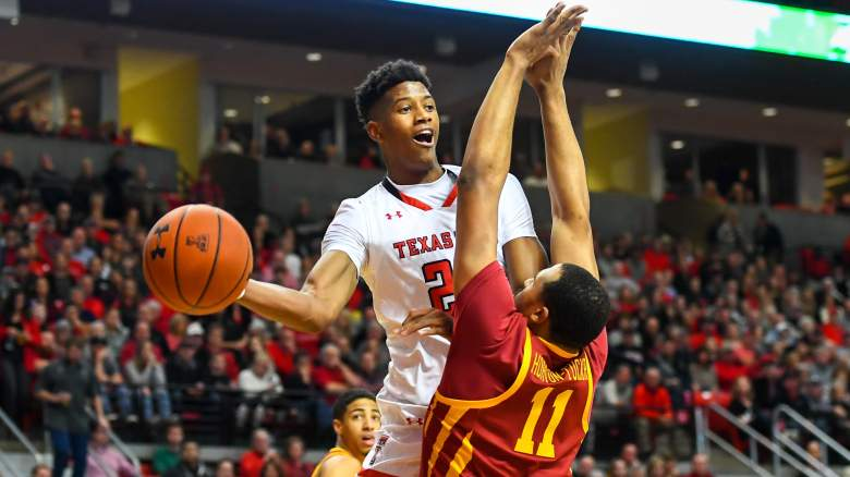 Jarrett Culver #23 of the Texas Tech Red Raiders