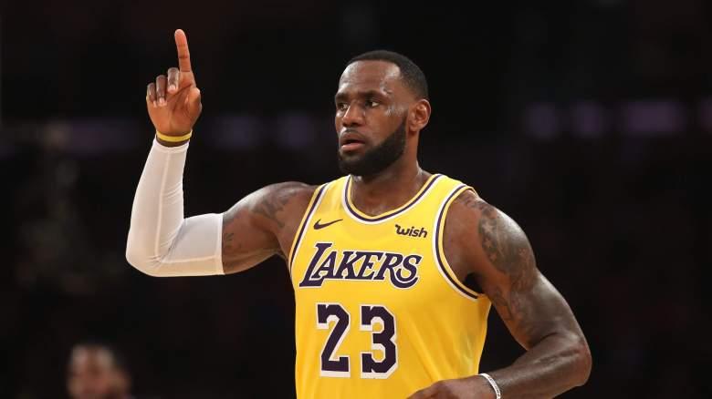 LeBron James Lakers Darius Garland NBA draft