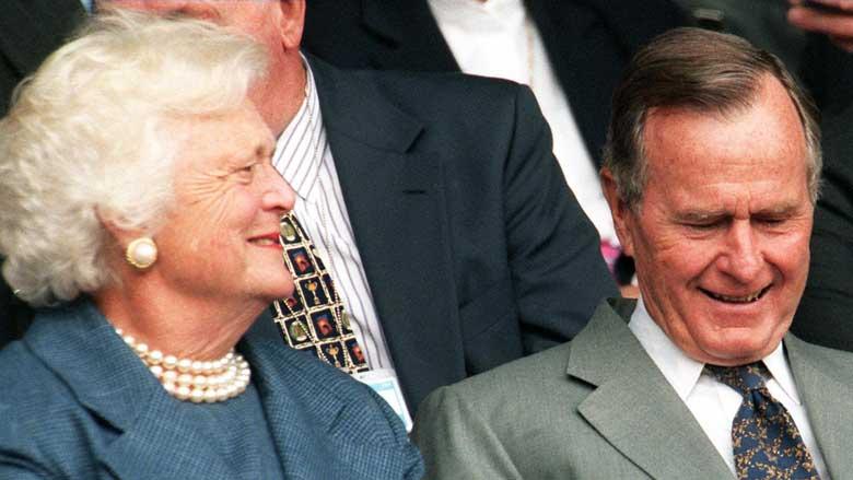 George H.W. Bush affair.