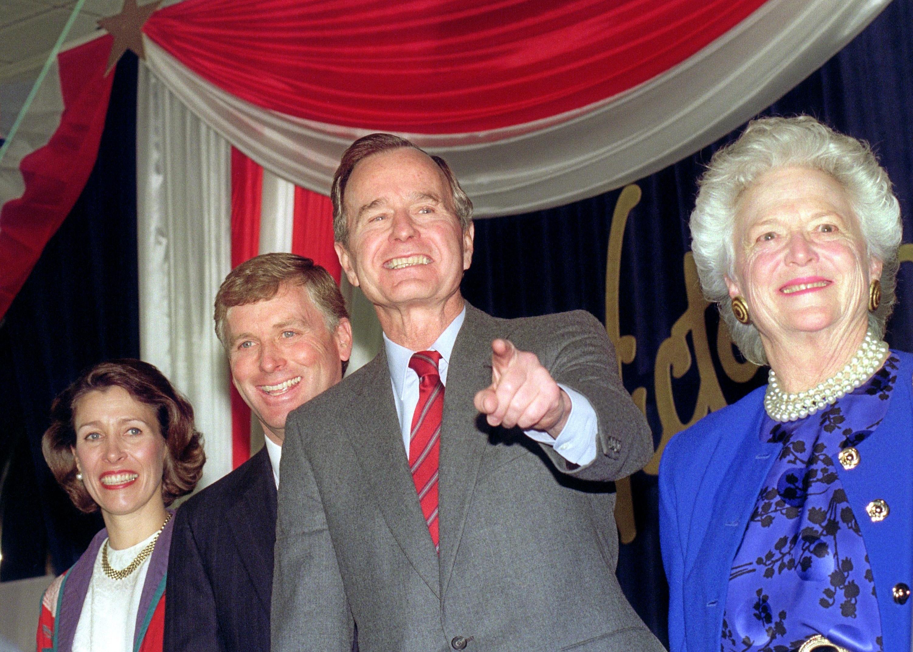 George H.W. Bush affair