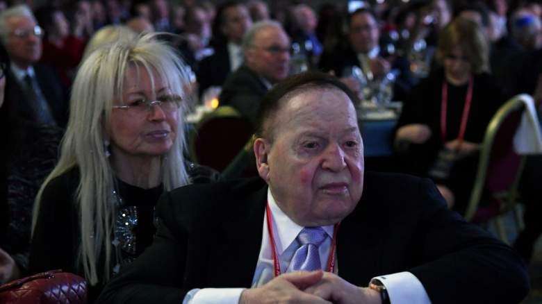 Sheldon Adelson Miriam Adelson Republican Party