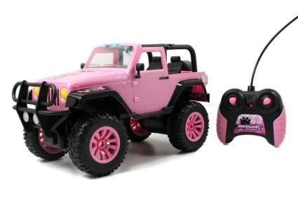 girlmazing big foot jeep
